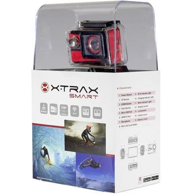 Câmera de Ação Xtrax SMART, 4K 30fps, 16 MP, Memória expansível até 64GB