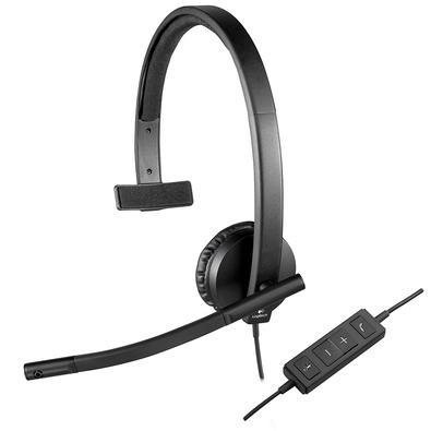 Headset Logitech H570e USB Mono - 981-000570