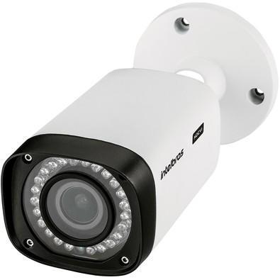 Câmera Bullet Intelbras com infravermelho, Lente Varifocal 2.7 a 12MM, Resolução HD 720p IR 40M - VHD 3140 VF G3 - 4565242