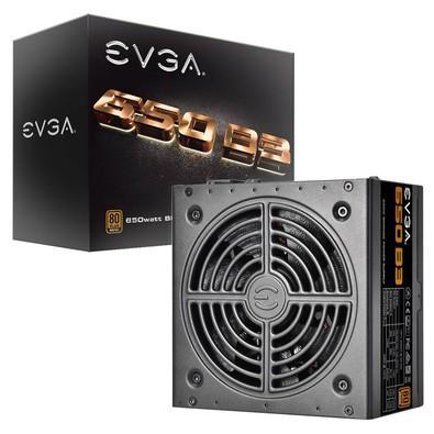 Fonte EVGA 650W 80 Plus Bronze Modular 220-B3-0650-V