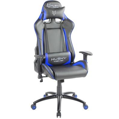 Cadeira Gamer Husky Blizzard, Black Blue - HBL-BB