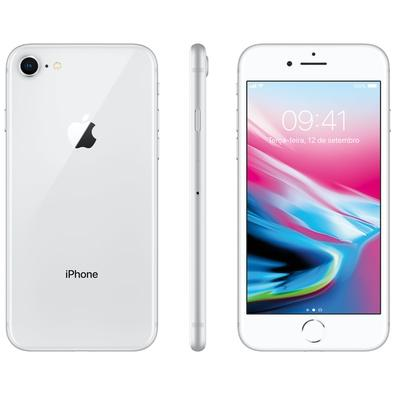 Iphone 8 Prateado, 64gb - Mq6h2