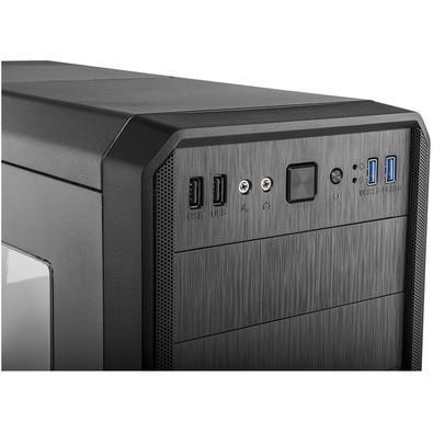 Gabinete NOX HUMMER Janela lateral em Acrílico USB 3.0 NXHUMMERZS