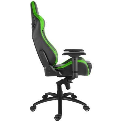 Cadeira Gamer Alpha Gamer Polaris Racing, Black Green