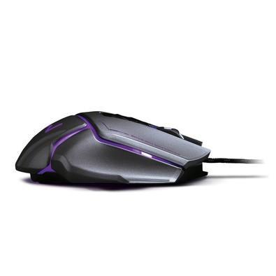 Mouse Gamer Warrior 3.200DPI USB Grafite - MO262