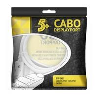 Cabo 5+ Displayport Macho 2m com Trava 018-7497