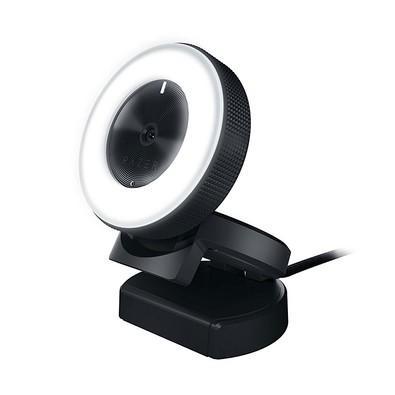 Webcam Razer Kiyo Full HD 1080p Iluminação 12 LEDs - RZ19-02320100-R3U1