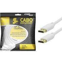 Cabo 5+ Displayport Macho 5M 018-7495