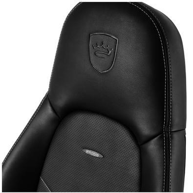 Cadeira Gamer Noblechairs ICON, Black Platinum White - NBL-ICN-PU-BPW