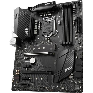 Placa-Mãe MSI p/ Intel LGA 1151 ATX B360 GAMING PRO CARBON DDR4