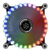 Cooler FAN Alseye Gatling Rainbown RGB 28 FAN G-120-RR ASGRR