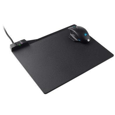 Mousepad Gamer Corsair MM1000 Qi°, Rígido, Carregamento sem Fio, Speed, Médio (350x260mm) - CH-9440022-WW