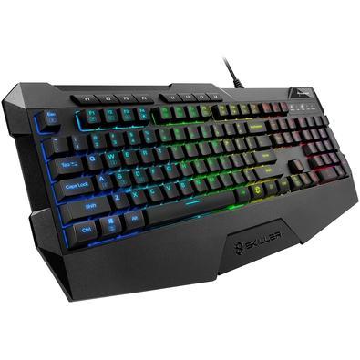 Teclado Gamer Sharkoon Skiller, RGB, US - SGK4