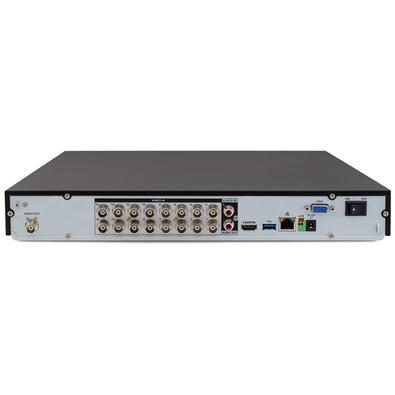 Gravador DVR Stand Alone Intelbras Multi-HD, 16 Canais, 4K, Suporta 2HD até 10TB - MHDX 5116 4580320