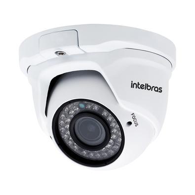 Câmera Dome Intelbras HD Lente Varifocal 2.8 a 12mm IR 30M IP66 VIP 1130 D VF - 4564154