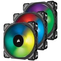 Kit de Cooler FAN Corsair com 3 Unidades ML120 PRO RGB de 120mm Lighting Node PRO CO-9050076-WW
