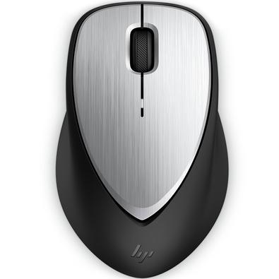 Mouse Sem Fio HP Envy 500, Recarregável, Prata - 2LX92AA