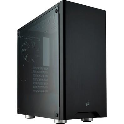 Gabinete Gamer Corsair Carbide 275R sem Fonte, Mid Tower, USB 3.0, 2 Fans, Preto com Lateral em Acrílico - CC-9011130-WW