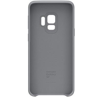 Capa Protetora Samsung Silicone Galaxy S9, Cinza - EF-PG960TJEGBR