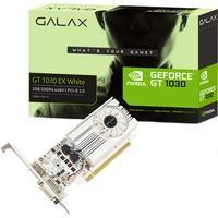 Placa de Vídeo VGA Galax NVIDIA GeForce GT 1030 2GB SDDR4 64Bits 1050Mhz - 30NPK4HVS6XW