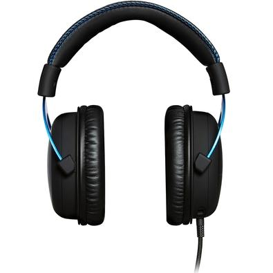 Headset Gamer HyperX Cloud Blue PS4 - HX-HSCLS-BL/AM
