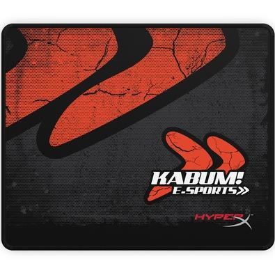 Mousepad Gamer HyperX Fury S Kabum e-Sports, Control, Médio (360x300mm) - HC-MP21V-BK-MD/BR