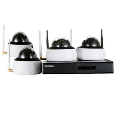 Kit de Monitoramento Hikvision NVR 4D WIFI - NK4W1-1T (TB)