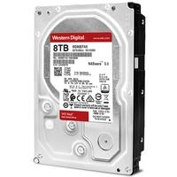 HD WD Red NAS, 8TB, 3.5´, SATA - WD80EFAX