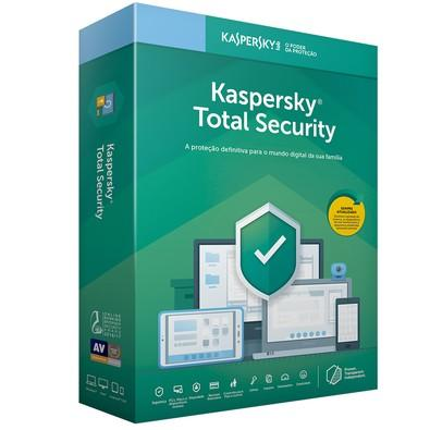 Kaspersky Antivírus Total Security 2019 Multidispositivos 10 PCs