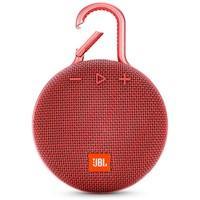 Caixa de Som JBL Clip 3, Bluetooth, À Prova D´Água, 1x3W, Vermelho - JBLCLIP3RED
