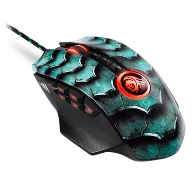 Mouse Gamer Sharkoon Drakonia II, RGB, 12 Botões, 15000DPI, Verde