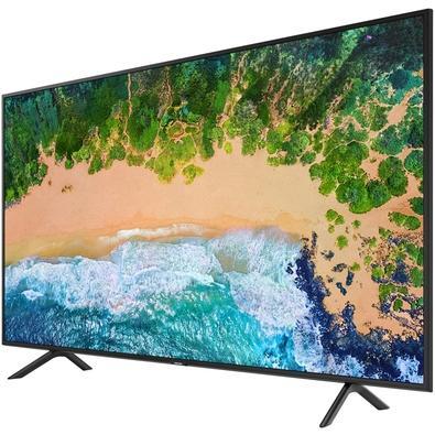 Smart TV LED 43´ UHD 4K Samsung, 3 HDMI, 2 USB, Wi-Fi, HDR - UN43NU7100GXZD