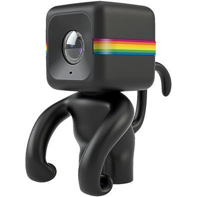 Suporte de Câmera Polaroid, Cube, Monkey, Preto - POLC3MSBK
