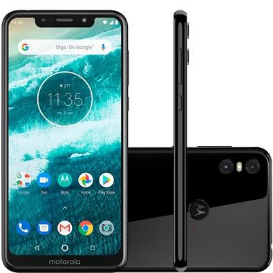 Smartphone Motorola One, 64GB, 13MP, Tela 5.9´, Preto - XT1941-3