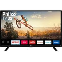 Smart TV LED 32´ Philco, Conversor Digital, 2 HDMI, USB, Wi-Fi - PTV32G50SN