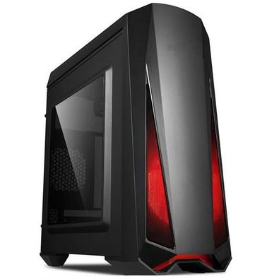 Computador Gamer FoxPC LVL1 AMD AM4, 4GB, HD 500GB, Radeon RX, Linux - 19099