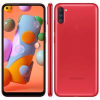 Smartphone Samsung Galaxy A11, 64Gb, 3GB RAM, Vermelho