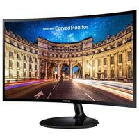 Monitor Samsung LED Curvo 24'', Full HD - LC24F390FHLMZD