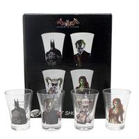 Copos Shots Batman Arkan Asylum DC Comics