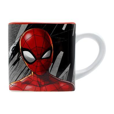 Caneca Cubo Homem-Aranha HQ Marvel