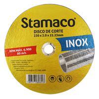 Disco De Corte Inox 230x 2.0x 22,23mm Stamaco 230mm