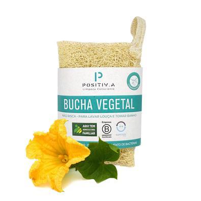 Bucha Vegetal Positiva com alça