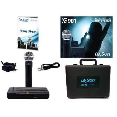Microfone Sem Fio De Mão Uhf Ls-901 Ht