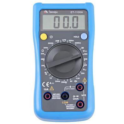 Multímetro Digital 3 1/2 Et-1100A