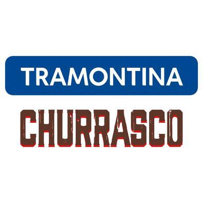 Chaira Tramontina em Aço Carbono Cromado e Cabo Vermelho Polywood Tramontina