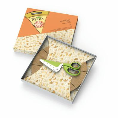 Conjunto para pizza - 2 peças Tramontina