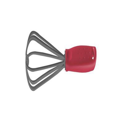 Batedor Manual Tramontina Utilitá em Nylon com Cabo de Polipropileno Vermelho Tramontina