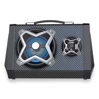 Caixa de Som Multilaser 120w Multiuso BT/USB/FM/AUX/SD/MIC/LED Bivolt - SP314