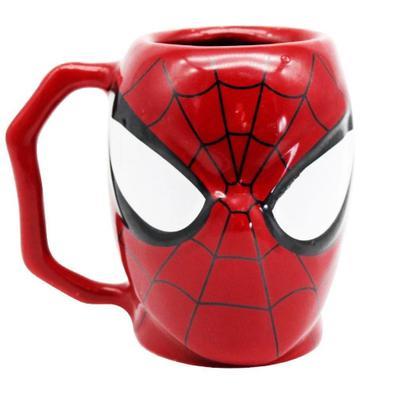 Caneca 3D Homem-Aranha Vingadores Marvel
