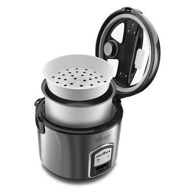 Panela de Arroz Glass Cooker BPA12P Preta 12 xícaras 220V BRITÂNIA